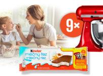 Vyhraj s Kinder kuchynský robot značky KitchenAid