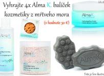 Vyhrajte 4x Alma K balíček kozmetiky z mŕtveho mora (v hodnote 30 €)