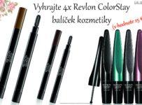 Vyhrajte 4x Revlon ColorStay balíček kozmetiky (v hodnote 25 €)