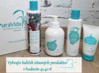 Vyhrajte balíček úžasných produktov Puravida Bio v hodnote 41,40 €