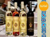 Vyhrajte balíček kvalitných slovenských vín