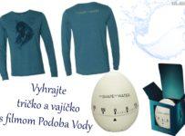 Vyhrajte tričko a vajíčko s filmom Podoba Vody