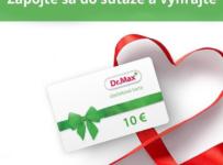 Zapojte sa do súťaže o darčekovú kartu Dr.Max plnú zdravia