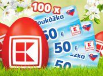Nájdite veľkonočné vajíčka a vyhrajte poukážky v hodnote 50€