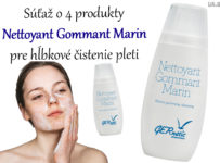 Súťaž o 4 produkty Nettoyant Gommant Marin pre hĺbkové čistenie pleti