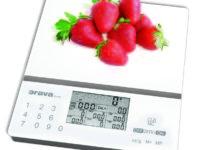 Súťaž o kuchynskú váhu s nutričnou kalkulačkou Orava EV-8 A