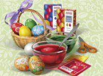 Súťaž o sadu farieb a ozdôb na vajíčka OVO v hodnote 300 Kč