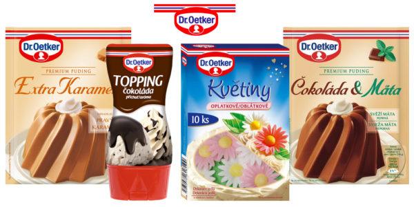 Súťaž o veľkonočné balíčky s rôznymi produktami Dr.Oetker
