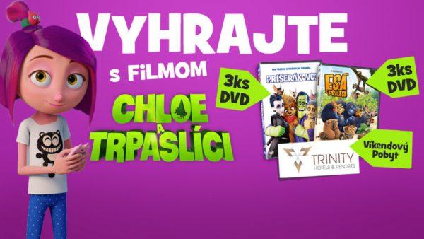 Súťažte s animákom CHLOE A TRPASLÍCI a vyhrajte skvelé ceny
