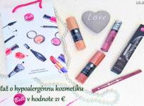 Súťaž o hypoalergénnu kozmetiku Bell v hodnote 21€