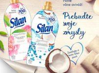 Súťažte so Silanom a vyhrajte aviváže Silan Coconut Water&Minerals 1,85l a Silan Peony&White Tea Scent 1,85l