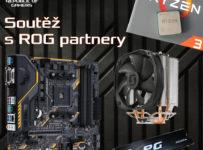 Soutěž s Asus o základní desku, procesor, chladič a SSD