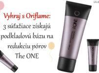 Vyhraj s Oriflame 3x podkladovú bázu na redukciu pórov The ONE