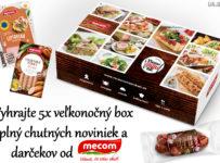 Vyhrajte 5x veľkonočný Mecom box, plný chutných noviniek a darčekov