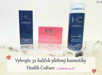 Vyhrajte balíček pleťovej kozmetiky Health Culture