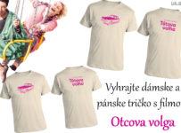 Vyhrajte dámske a pánske tričko s filmom Otcova volga