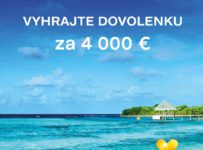 Vyhrajte dovolenku snov za 4000€