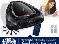 Vyhrajte robotický vysávač Purei9 značky Electrolux!