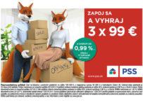 Vysnívané bývanie - hraj o výhru až 3 x 99 EUR od PSS