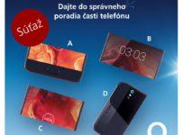 Zoraď časti do správneho poradia a vyhraj smartfón NOA Sprint 4G