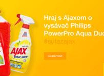 Vyhraj vysávač Philips alebo darčekový balíček Ajax