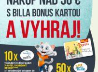 Nakúpte v BILLE nad 50 eur s BILLA BONUS kartou počas apríla a vyhrajte skvelé ceny