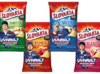 Súťaž o 3 kartóny s 12 balíčkami Slovakia Chips