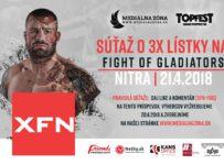 Súťaž o 3 lístky na Fight Of Gladiators