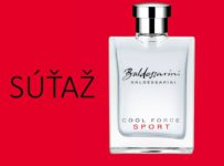 Súťaž o novú pánsku vôňu Baldessarini Cool Force Sport