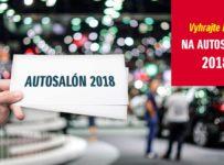 Súťaž o tri dvojice lístkov na bratislavský Autosalón 2018