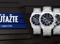 Súťažte s nami o luxusné pánske hodinky Festina