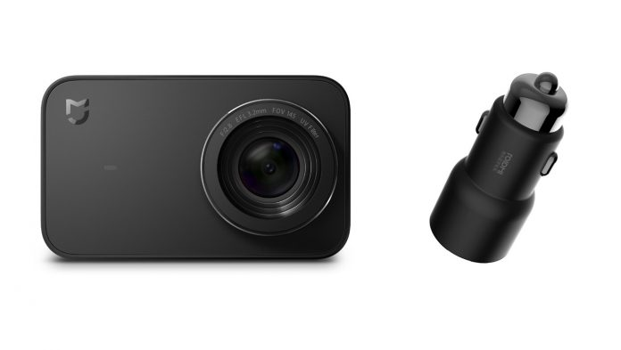 Vyhraj namakanú Xiaomi kameru a 5x Xiaomi nabíjačku do auta
