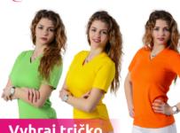 Vyhraj veselé tričko v jarných farbách