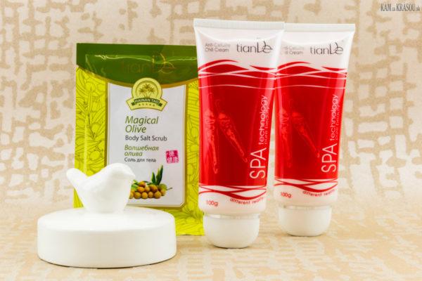 Vyhrajte 3x balíček telovej kozmetiky s čili od tianDe