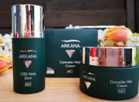 Vyhrajte ARKANA balíček konopnej pleťovej kozmetiky v hodnote 80 €