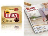 Vyhrajte kuchársku knihu od Hery, formy na minibábovky a lis na cesto