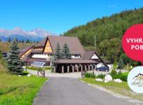 Vyhrajte pobyt vo Vysokých Tatrách v 3-hviezdičkovom Hoteli Sipox