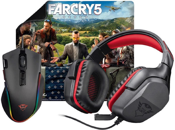 Súťaž o Trust GXT Gaming Bundle 3-in-1 s hrou Far Cry 5