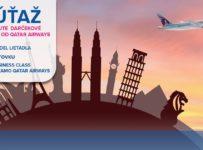 Súťaž o darčekové predmety od Qatar Airways