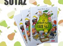 Súťaž o krásnu farebnú knižku Neuveriteľný príbeh o obrovskej hruške