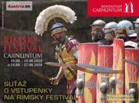 Súťaž o vstupenky na Rímsky festival 2018