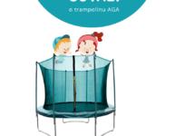 Súťaž záhradnú trampolínu Aga SPORT FIT 250-244