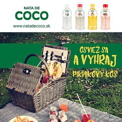 Súťažte s Nata de Coco o 5 piknikových košov