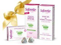 Súťaž o balíček intímnej hygieny Saforelle aj s naušničkami