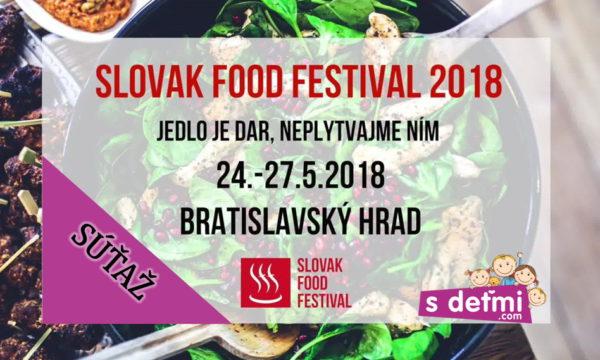 Súťaž so Slovak Food Festival