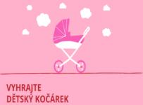 Soutěž o kočárek pro panenky Jasmine Kids v hodnotě 2490 Kč