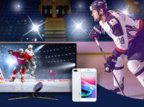 Tipujte výsledky hokejových zápasov a hrajte o 5 x iPhone 8 a 20 x SMART TV