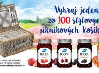 Vyhraj jeden zo 100 štýlových piknikových košíkov