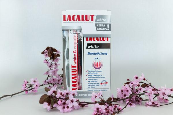 Vyhrajte 3x Lacalut systém pre žiarivý úsmev