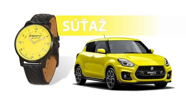 Vyhrajte originálne športové hodinky od Suzuki v hodnote 100€